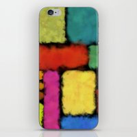 Tracks of colors iPhone & iPod Skin
