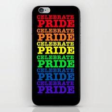 GAY PRIDE CELEBRATE  iPhone & iPod Skin