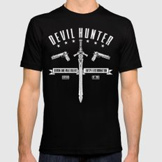 Devil Hunter Mens Fitted Tee Black SMALL