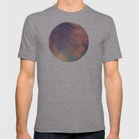 Blur//Four Mens Fitted Tee Athletic Grey SMALL