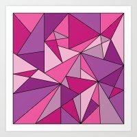 Pinkup Art Print