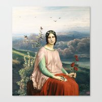 Lady of the Fields Canvas Print