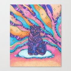 Sky Bear Canvas Print