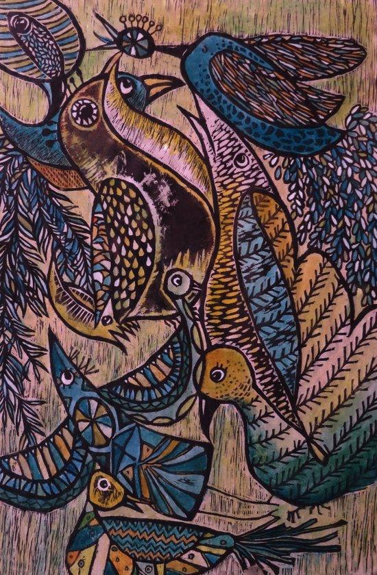 Birds (2) Art Print