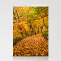 New York City Autumn Dus… Stationery Cards