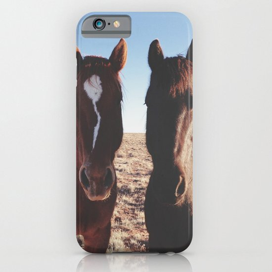 Horse Friends iPhone & iPod Case