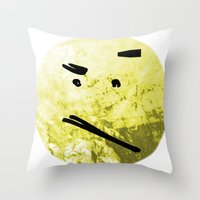 Pareidolia Throw Pillow
