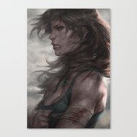 Survivor Canvas Print