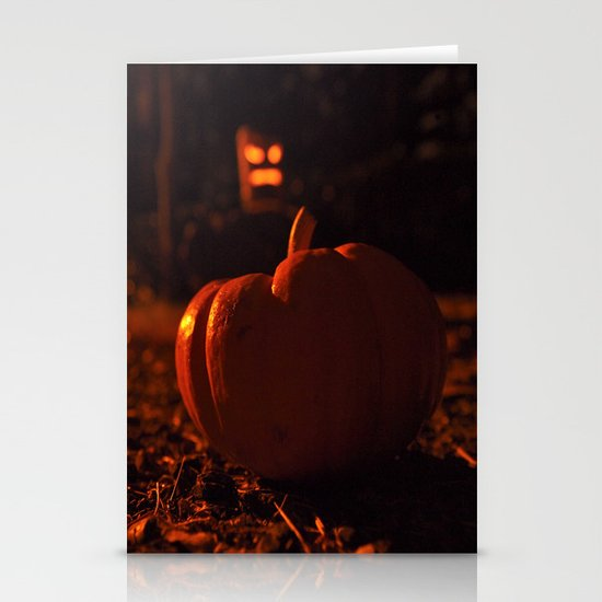 Autumn in October Stationery Card