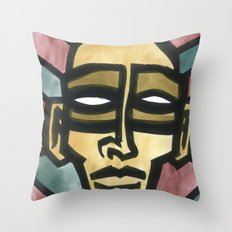 Damaged Citizen Throw Pillow