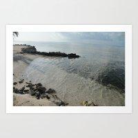Your Own Private Beach..… Art Print