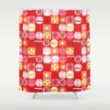 lions and lambs-oh my! Shower Curtain