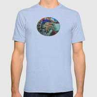 My First Free Standing F… Mens Fitted Tee Athletic Blue SMALL