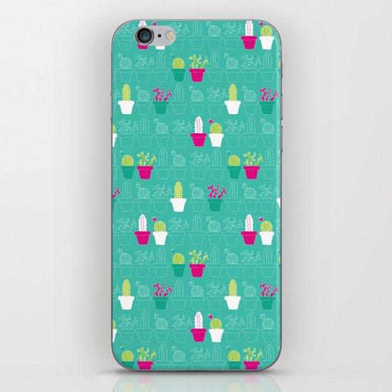 Mini Cactus Love iPhone & iPod Skin