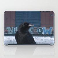 Be Crow iPad Case