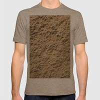 Oliver/ Sharon/ Red Mens Fitted Tee Tri-Coffee SMALL