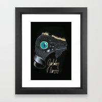Golden Horn Framed Art Print