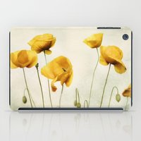 Yellow Poppies iPad Case