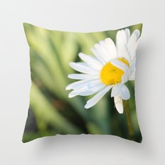 Smiling in the morning light Throw Pillow