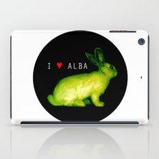 I LOVE ALBA iPad Case
