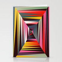 Retro Tunnel Stationery Cards