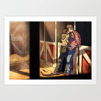 William And Theodore 22 Art Print