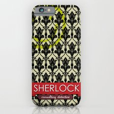 Sherlock Poster 1 iPhone 6 Slim Case