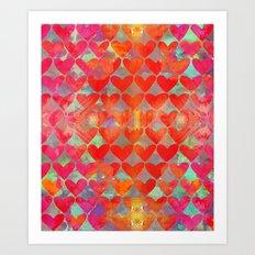 Love Overload Art Print