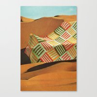 the shifting sands Canvas Print