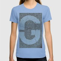 GGGG Womens Fitted Tee Athletic Blue SMALL