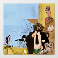 Alfred 2 Canvas Print