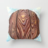 Celestial Pier Throw Pillow