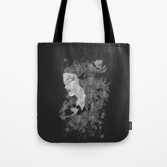 Cosmic dreams (B&W) Tote Bag