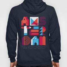 Postcards from Amsterdam / Typography Hoody