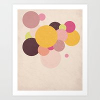 Balloons//Two Art Print