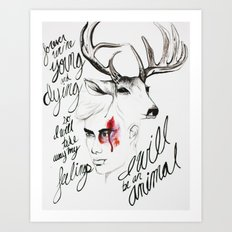 Wild Youth Art Print