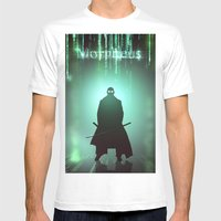 Morpheus Mens Fitted Tee White SMALL