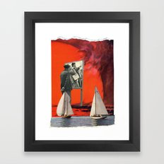 Beware Of The Obvious Framed Art Print