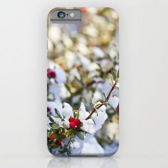 Sweet winter iPhone & iPod Case