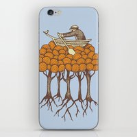 Sailing the High Trees iPhone & iPod Skin