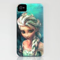 iPhone Cases featuring The Storm Inside by Alice X. Zhang
