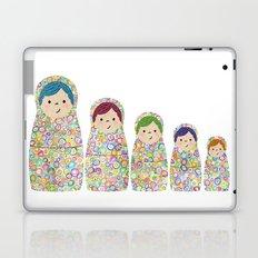 Rainbow Matryoshka Nesting Dolls Laptop & iPad Skin