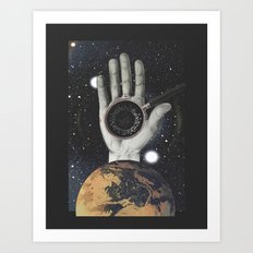 Biological Black Hole Art Print