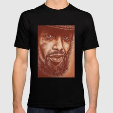the story of G.S.Heron-3 of 3 SMALL Black Mens Fitted Tee