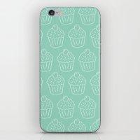 Cupcake Pattern iPhone & iPod Skin