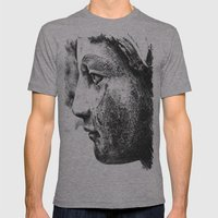 Angel's profile Mens Fitted Tee Athletic Grey SMALL
