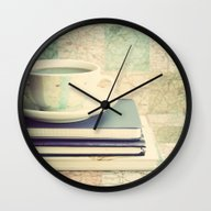 Wall Clock featuring Lets Plan A Travel  by AC Photography