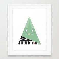 elegantes Dreieck Framed Art Print