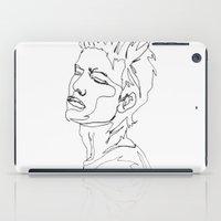 minimal drawing  iPad Case