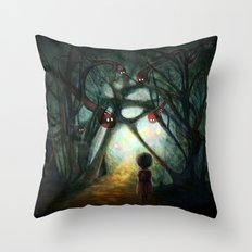 Through the Dream Throw Pillow